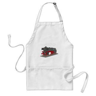 Steam engine adult apron