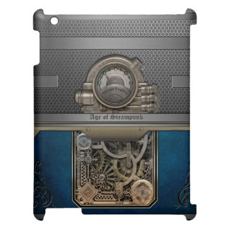 Steam Engine.Age of Steampunk. Case For The iPad