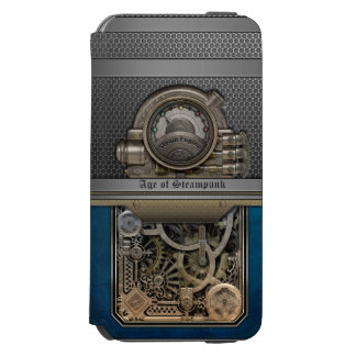 Steam Engine.Age of Steampunk. iPhone 6/6s Wallet Case