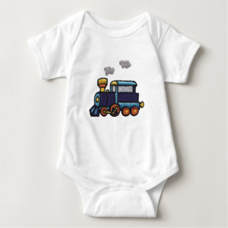 Steam Engine Baby Bodysuit