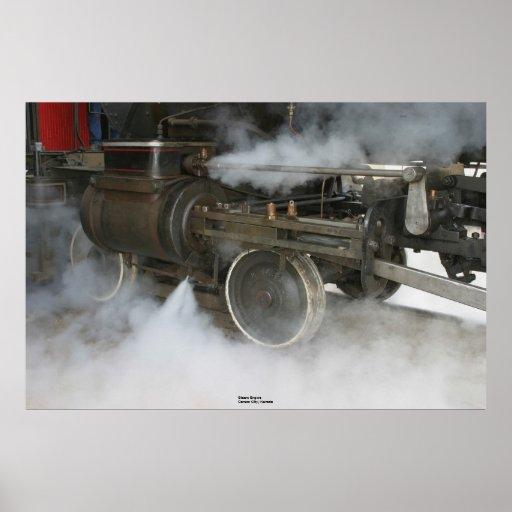 Steam Engine, Carson City, Nevada Posters