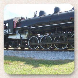 Steam engine Coaster Set