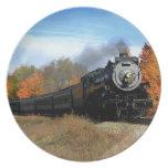 Steam Engine Dinner Plate