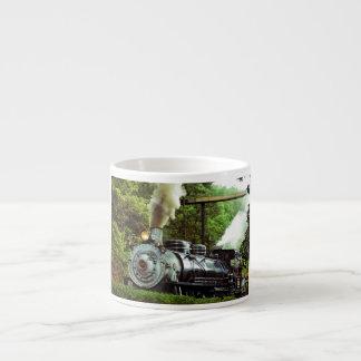 Steam Engine Espresso Cup