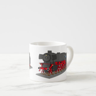 Steam engine espresso cup