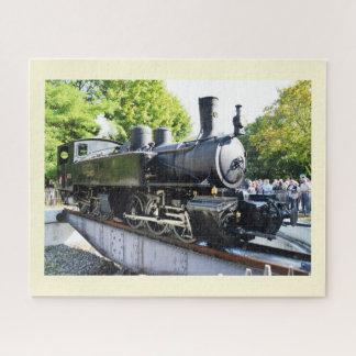 Steam engine, France Jigsaw Puzzle