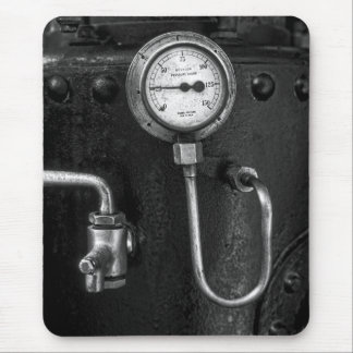 Steam Engine Gauge Dads Birthday Mousepad
