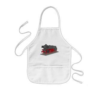 Steam engine kids' apron