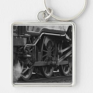 Steam Engine Locomotive Train Gifts Keychain