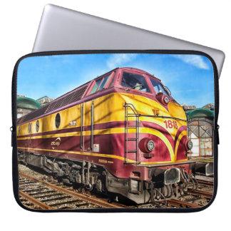 Steam Engine Locomotive Train Graffiti Sleeve