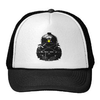 Steam Engine Locomotive Train Trucker Hat