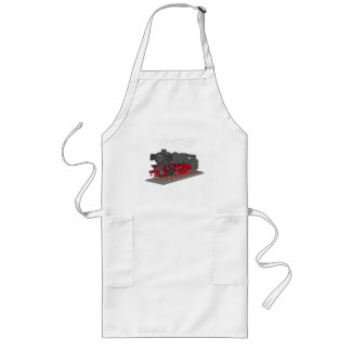 Steam engine long apron