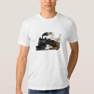 Steam Engine Passenger Train T-shirt