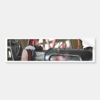 Steam Engine Piston Bumper Sticker