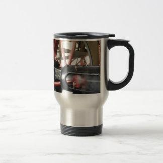 Steam Engine Piston Travel Mug