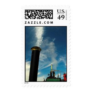 Steam Engine Postage