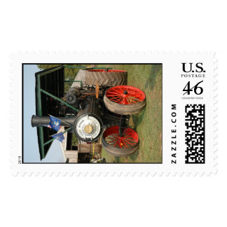 Steam Engine Postage Stamp