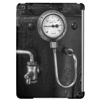 Steam Engine Pressure Gauge iPad Air Case