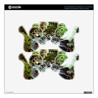 Steam Engine PS3 Controller Skins