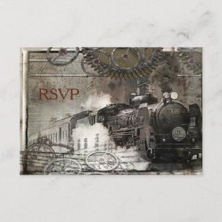 Steam Engine Steampunk RSVP