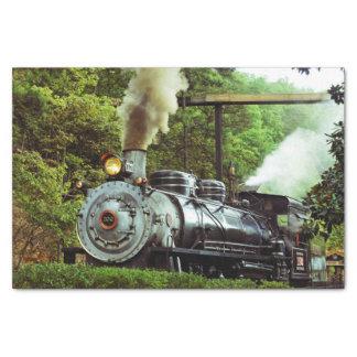 Steam Engine Tissue Paper