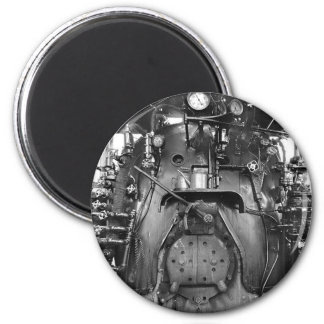 Steam Engine Train Cab Magnet