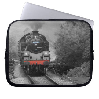 Steam Engine Train Laptop Case Laptop Computer Sleeve
