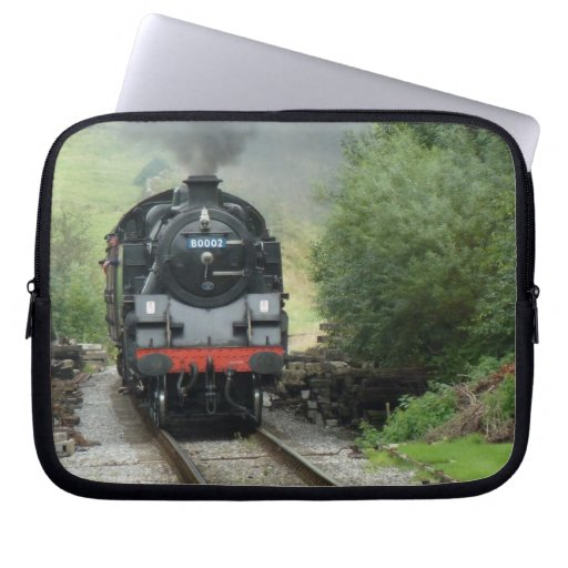 Steam Engine Train Laptop Case Laptop Sleeve