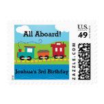 Steam Engine Train Postage Stamps Stamp