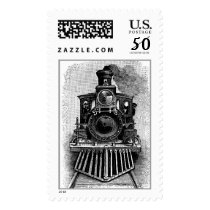 Steam Engine Train Transportation  Postage stamps