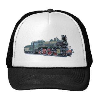 Steam Engine Train Trucker Hat