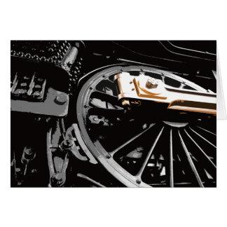 Steam Engine Wheel Card