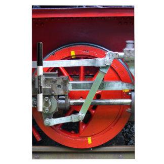 Steam engine wheel dry erase board