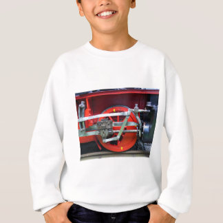 Steam engine wheel sweatshirt