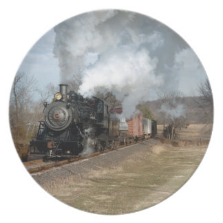 Steam Engine with Freight Plate