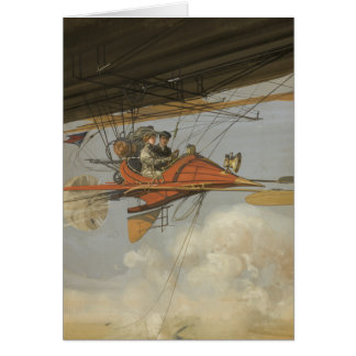 Steam Flyer Greeting Cards