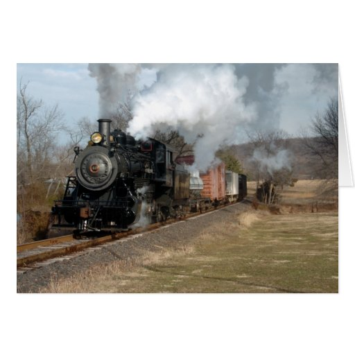 Steam Freight Lahaska Card