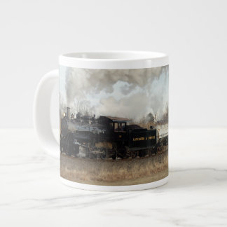 Steam Freight Specialty Mug 20 Oz Large Ceramic Coffee Mug