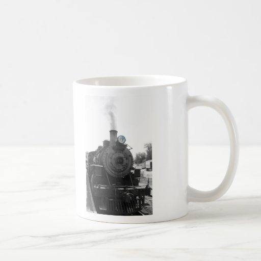 Steam locomotive #40 of essex,ct mugs