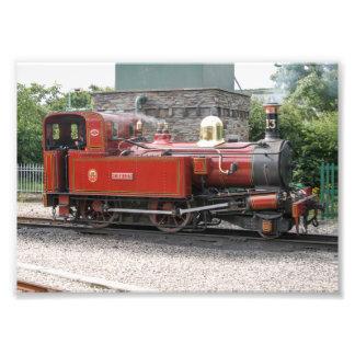 Steam locomotive at Port Erin Isle of Man Photo Art