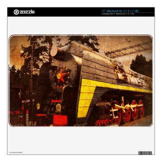 "Steam Locomotive at the Kiev Railway Station 11"" MacBook Air Decal"