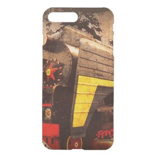 Steam Locomotive at the Kiev Railway Station iPhone 7 Plus Case