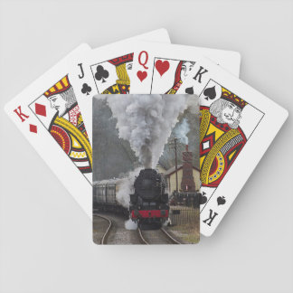 Steam Locomotive Card Decks