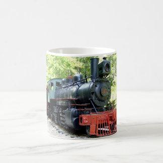 steam locomotive color mug