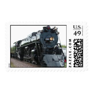 Steam Locomotive Custom Stamp