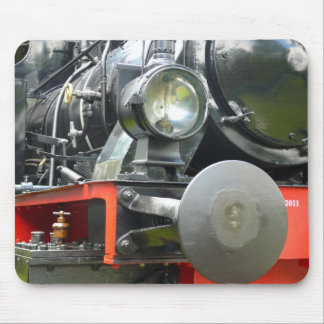 Steam locomotive detail mouse pad