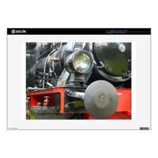 "Steam locomotive detail skin for 15"" laptop"