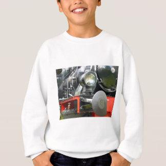 Steam locomotive detail sweatshirt