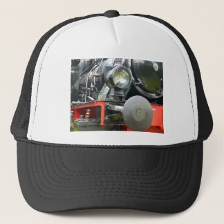 Steam locomotive detail trucker hat