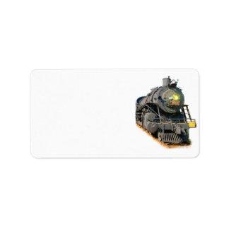 Steam Locomotive Labels